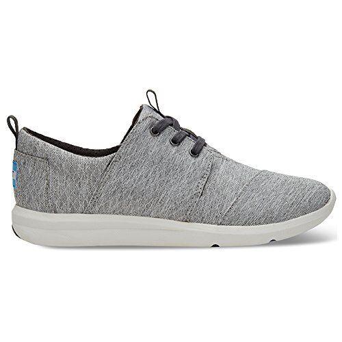 0f2e8a0978c Toms Women s Del Rey Sneaker Casual Shoe 9 Grey Diamond Melange for ...