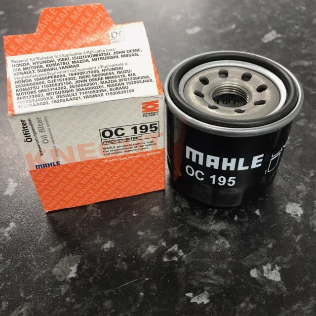 Mahle Knecht Oil filter OC195 fits Nissan Murano 3.5 4X4 VQ3