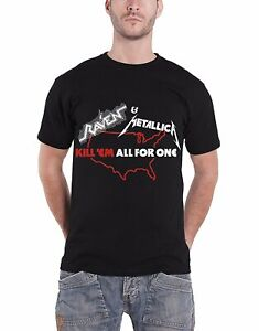 Authentic METALLICA Kill Em All Summer /'83 Tour T-Shirt S-2XL NEW