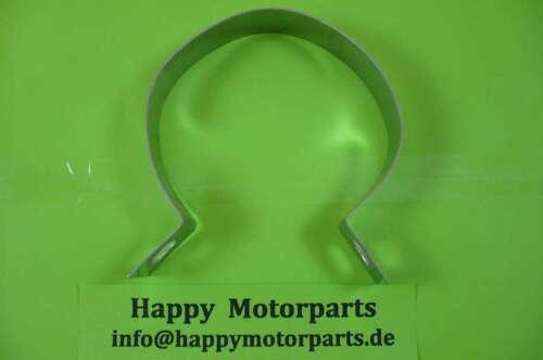 HMParts Pit Bike Dirt Bike ATV universal  Edelstahl Auspuffschelle Typ 70 mm