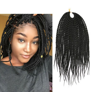 Box Braids Crochet Hair 12 Crochet Box Braids Synthetic Crochet
