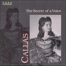 FREE US SHIP. on ANY 2 CDs! USED,MINT CD : Callas: The Secret of a Voice