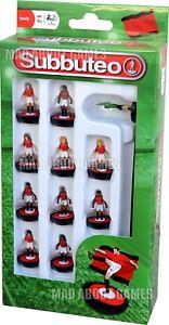 SUBBUTEO Manchester United colori squadra calcio in Figure Miniature