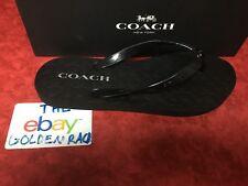 d1fee72c175 item 5 NIB Coach New York Womens Abbigail Rubber Flip Flops Black SZ 6-10  34A01818 -NIB Coach New York Womens Abbigail Rubber Flip Flops Black SZ  6-10 ...