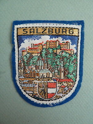 """New Vintage Embroidered  Security Guard 1-1//2/"""" x 4-1//2/"""" Patch"""