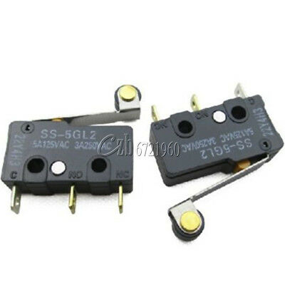 2x  Omron SS-5GL2 SS Subminiature Basic Switch