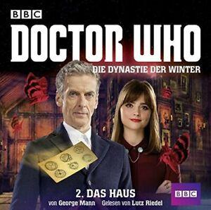 GEORGE-MANN-DOCTOR-WHO-DIE-DYNASTIE-DER-WINTER-TEIL-2-DAS-2-CD-NEW