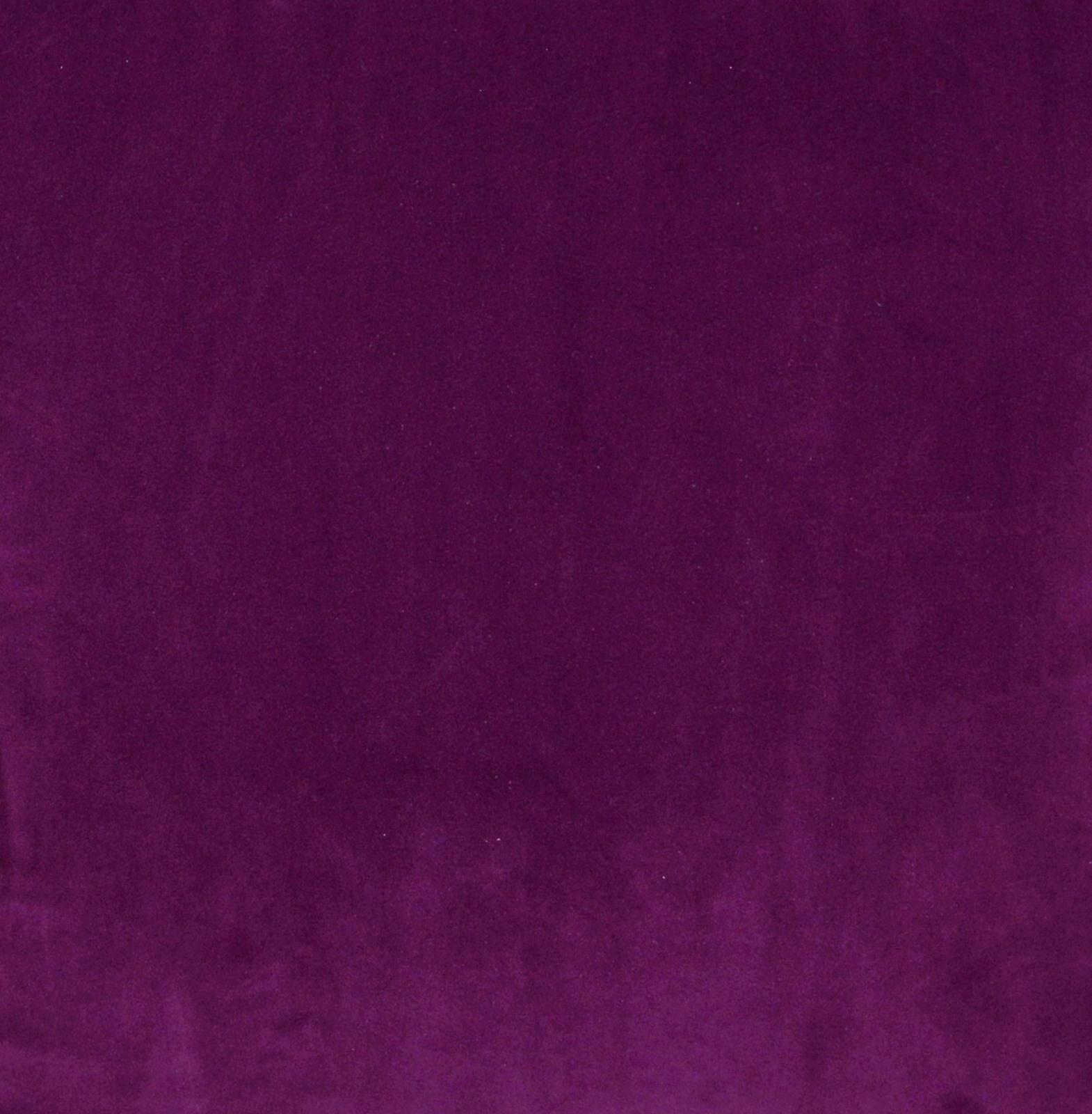 Mf51n Violet Plain Thick Microfiber Velvet Round Shape Cushion Cover Custom Size