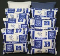8 Cornhole Beanbags Made W Duke Unv. Fabric Aca Reg Bags, Top Quality