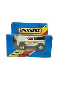 Matchbox Superfast MB 63 4 x4 espalda abierta recoger BOB JANE Limited Edition (419)