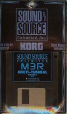 "Sound Source Unlimited Korg M3R ""Multi-Tambral"" Mac Disk"