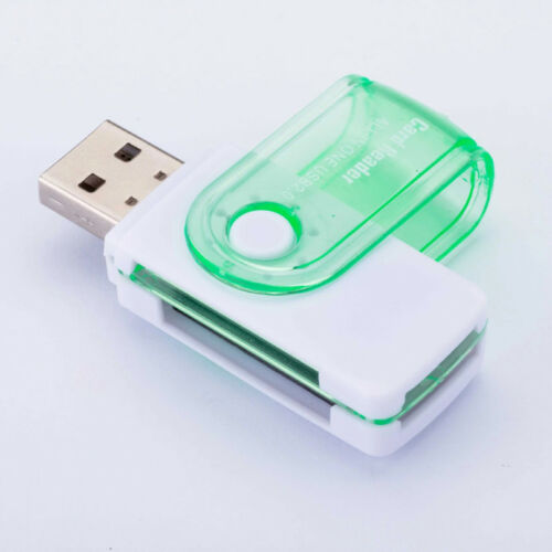 2* All In One TF//SD//MS//M2 Card Memory Card Micro SD Card Reader USB 2.0 New