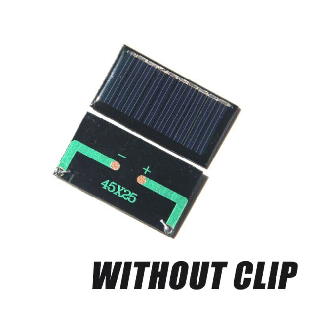 12V Mini Solar Panel System For DIY Battery Cell Phone Charger Module