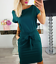 Women-Solid-Pockets-Slim-Pencil-Dress-Bodycon-Casual-Short-Sleeve-Party-Cocktail thumbnail 8