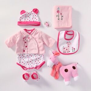 Baby-Doll-outfit-Set-Doll-Kits-Reborn-Suitable-for-22-24-034-Reborn-Baby-Dolls