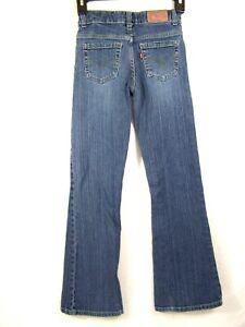 Levi-Strauss-Womens-517-Jeans-Size-12-Slim-Flare-Leg-Blue