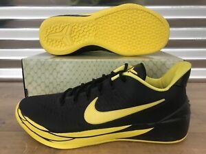 hot sale online 90fc1 5a823 Nike Kobe A.D. Basketball Shoes 'Oregon' Black Yellow Strike SZ ...