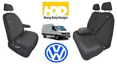 VOLLKSWAGEN VW CRAFTER CR35 HEAVY DUTY GREY CAMO VAN SEAT COVERS