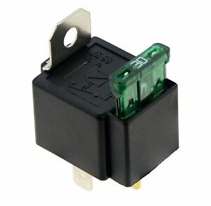 Con-fusibile-ON-OFF-AUTO-Con-fusibile-relay-12V-30A-4-pin-normalmente-aperto-AUTO-BICI