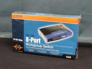 NEW-SEALED-Cisco-Linksys-EZXS88W-EtherFast-10-100-8-Port-Workgroup-Switch