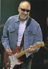 THE WHO PETE TOWNSEND PHOTO EXCLUSIVE 2005 HUGE 12 INCH UNRELEASED UNIQUE IMAGE