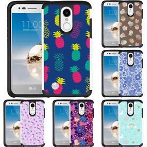 quality design 66d9b e4ceb Unicorn Cupcake Pineapple Design Phone Case Cover for For LG K30 ...