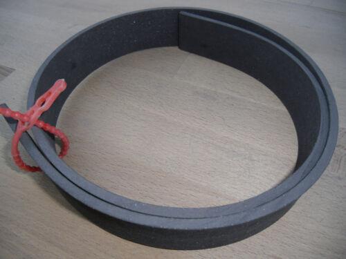 25x5,5mm Bremsband Meterware Bremsbelag deutsche Herstellung hoher Reibwert 2Rad