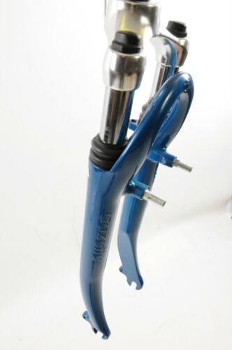 "1"" STEERER 171mm BLUE I 700c TREKKING DUTCH BIKE SUSPENSION FORK GAZELLE ALC"