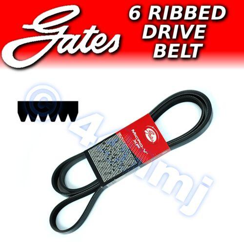 Alternator Drive Belt 6pk 1043 6pk1043 GATES Micro V Ribbed Fan Auxiliary