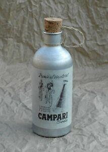 Bidon Campari en aluminium copie d'époque  gourde vélo vintage  Z21 #152