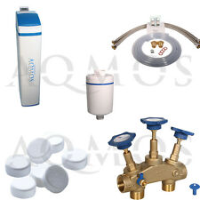 Wasserenthärtungsanlage Wasserenthärter Aqmos BM-2 Wave Kalk Filter Entkalkung