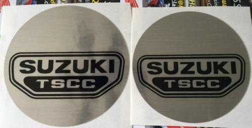SUZUKI GSX750 GSX1100 KATANA GSX ENGINE COVER DECALS EMBLEMS