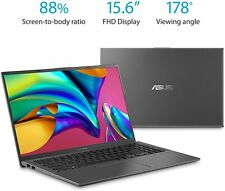 "ASUS VivoBook 15 F512DA-EB51 15.6"" 256GB SSD AMD Vega Quad Core R5-3500U 3.6GHz 8GB Laptop - Gray"