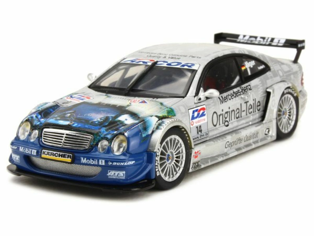 Mercedes - benz clk dtm 2001 thomas j. ä ger n ° 14 autoart 60137 1   43 deutschland