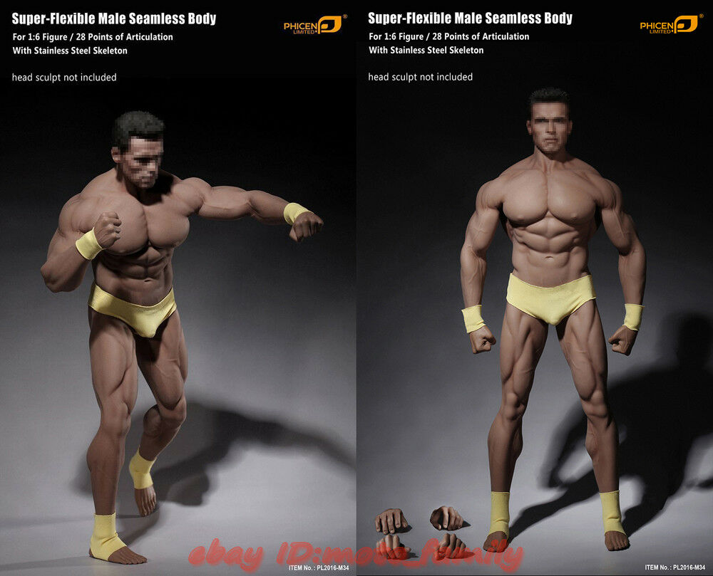 Heiß   phicen tbleague pl2016-m34 1   6 flexible nahtlose männliche super - muskel - körper