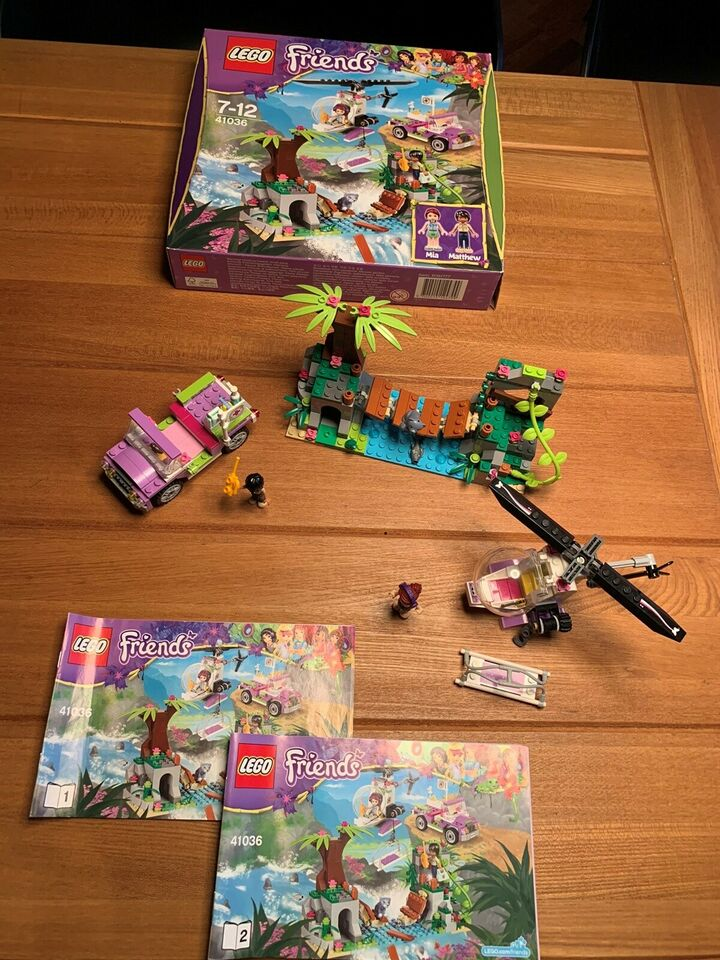 Lego Friends, 41036 Jumgle Bridge Rescue
