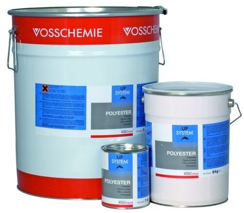 Vosschemie Up System // Polyester Farbpaste // Gelcoat Polyesterharz 1kg