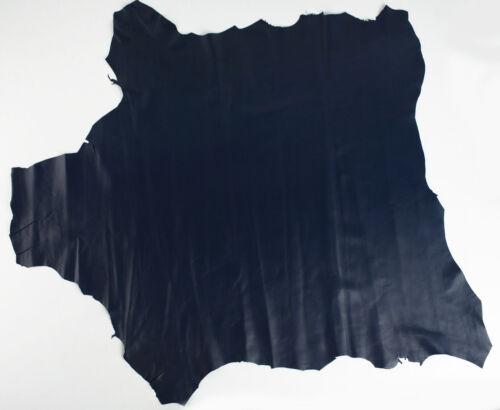 Skins Hides Nappa BLACK BLUE #N-6 ITALIAN Lambskin Leather Hide Skin