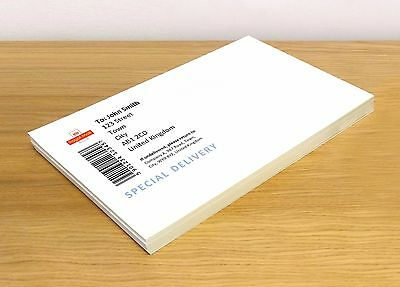 Bulk A4 White MATT Self Adhesive / Sticky Back Label Printing Paper Sheet .