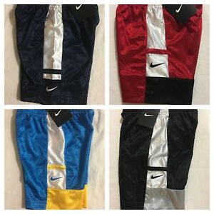 Nike-Boys-Shorts-Size-2T-3T-4T-Black-Gray-Red-Blue-20-Athletic-Gift-M