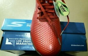 11 Skechers Hexgo Soccer 54901Rouge Taille Chaussures M Go n0P8wOk