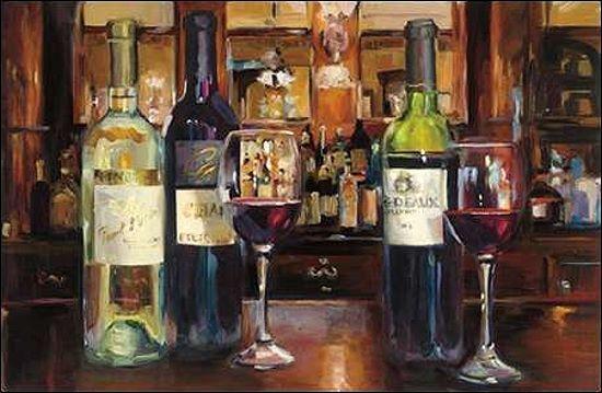MARILYN Hageman  RIFLESSIONE of VINO barella-immagine Schermo cucina bottiglie bottiglie bottiglie 05c0c8