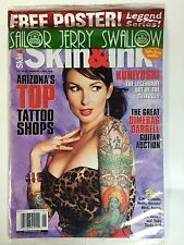 Skin and Ink Tattoo Magazine - June 2008 - Free Poster Sailor Jerry