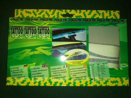 Foliatec Tattoo Aufkleber Dekor  Motiv 5 schwarz