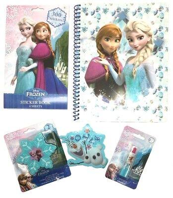 Disney Frozen Elsa Anna Olaf 4pk Highlighter and Gel Pen Set Stationary