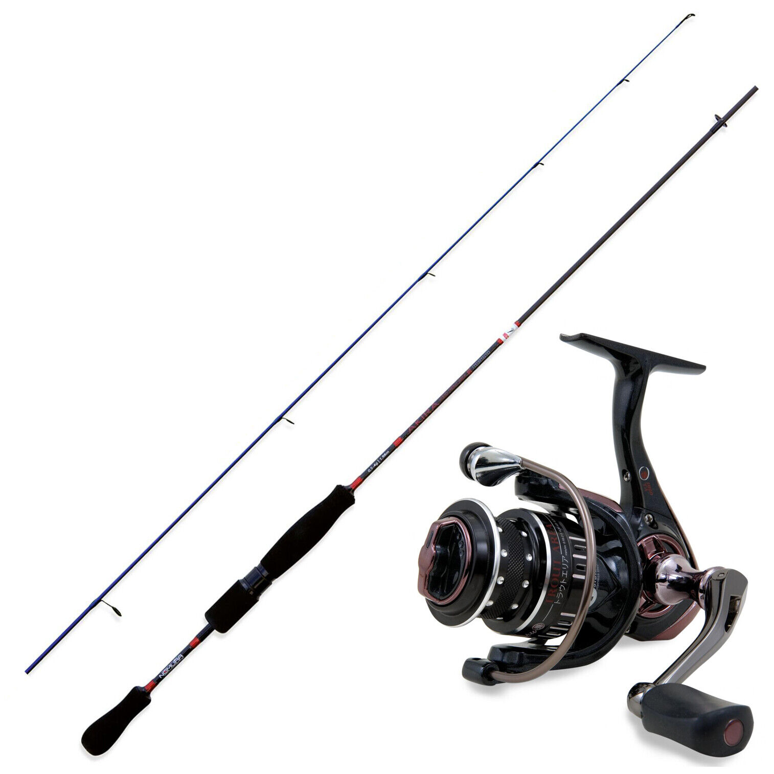 KP3574 Kit Pesca Trout Area Nomura Canna Akira Solid 1,70 m + Mulinello Har FEUG
