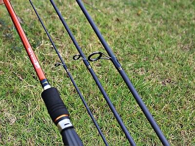 8ft(2.4m)MH 4 sections spinning rod travel rod Lure Weight:1/4-1oz