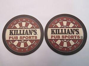 2002 Coors Bière Barre dessous de Verre - Killian's Bar Pub Sports ~ Jeu rseKBKc5-09092552-213424017