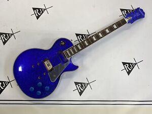 Epiphone Les Paul Tommy Thayer Electric Blue Sparkle Guitar Husk Project