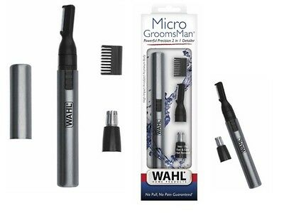 Wahl 5640-600 Cordless Micro Groomsman Personal Trimmer Wet/Dry *NEW* OneDaySale